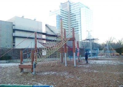 3 lanove veze Aupark, Bratislava