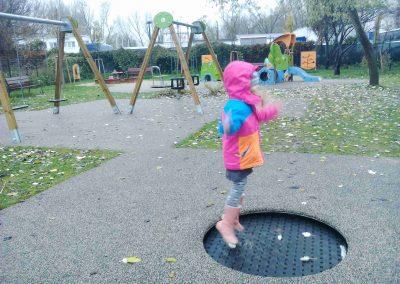 Detský park, Chorvátske rameno, Petržalka