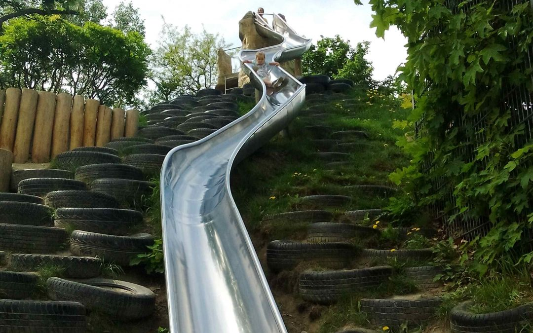 Prater park Viedeň