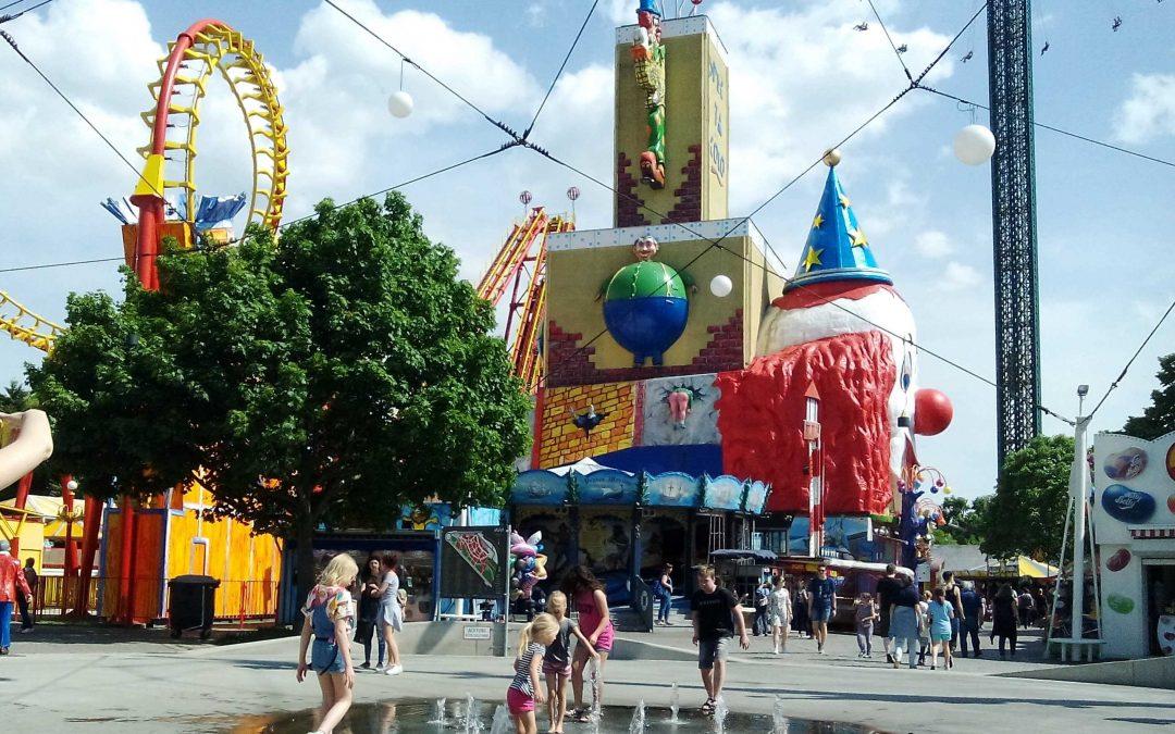 Zábavný park Prater Viedeň