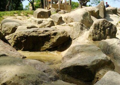 Vodné ihrisko, Park Prater Wien, Rakúsko