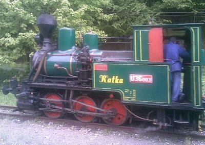 Detská železnica Košice - Čermeľ, Foto Free Wiki Commons