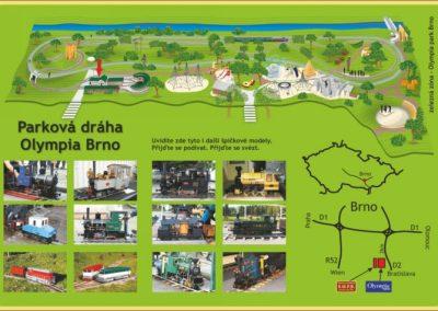 Parkova draha Olympia, Zdroj www.smpd.cz