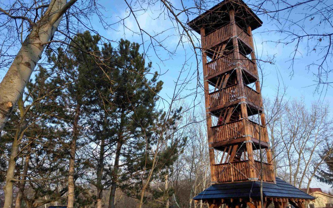 Lesopark Vrakuňa – nová rozhľadňa, detské ihrisko aj pumptrack