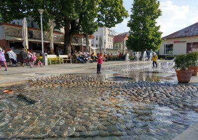 Vodná fontána Piešťany