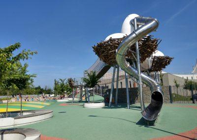 šmykľavka, Bruno family park Brno