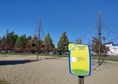 Lanová trojsieť Olympia park, Brno