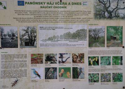 012 Panonsky haj 112019 -trasa 1, tabuľa č. 4
