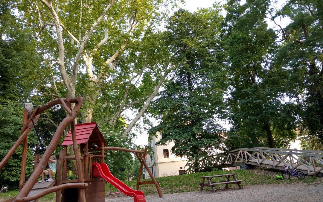 Park a kaštieľ Stupava