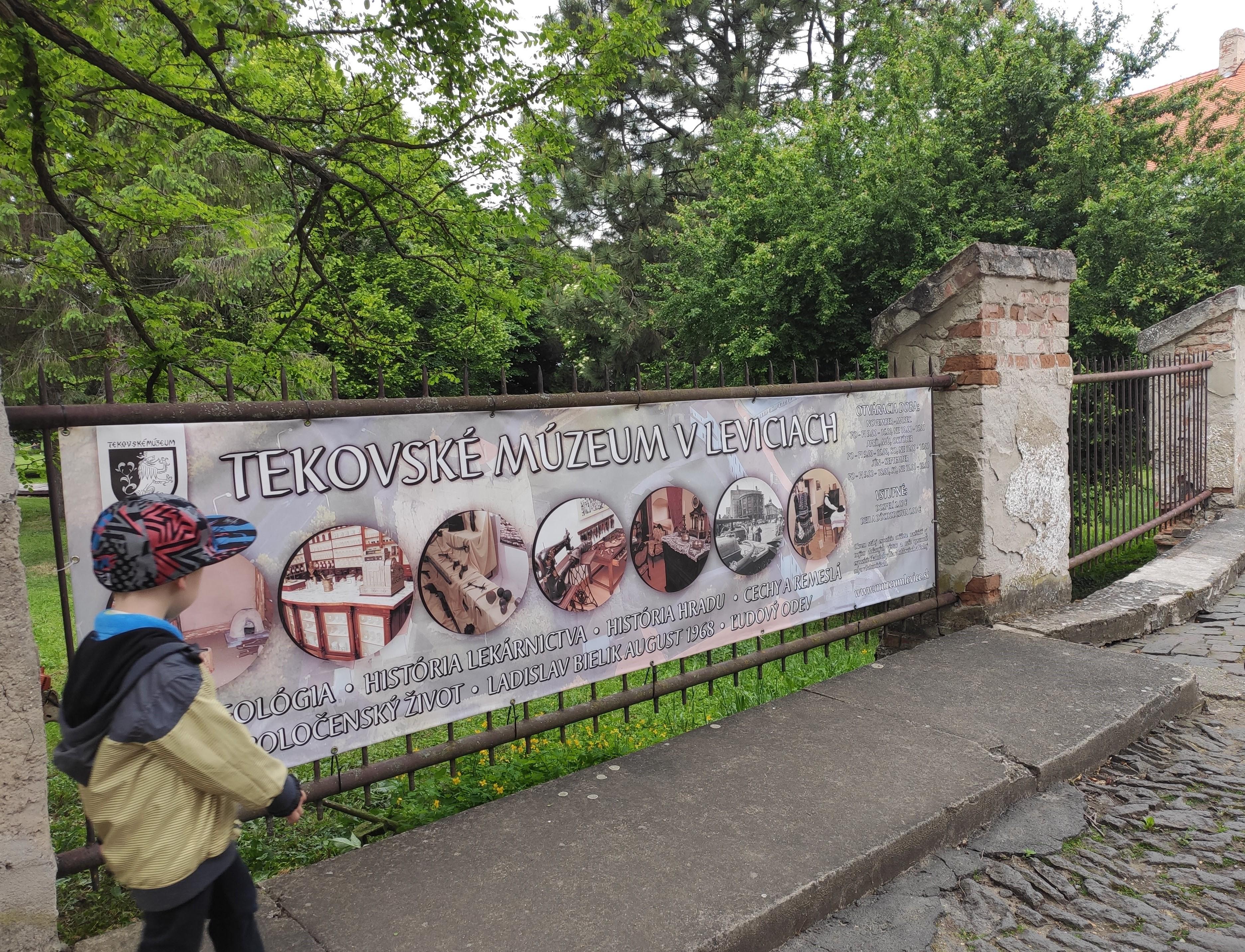 05 Levický hrad a Tekovské múzeum v Leviciach 052020