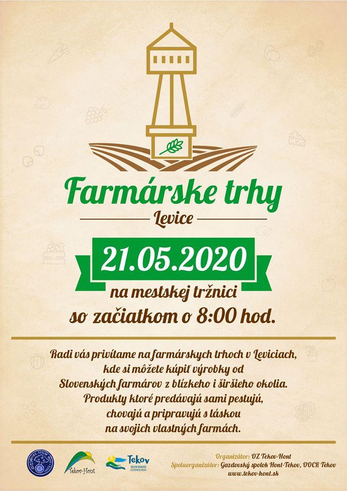 Farmárske trhy Levice