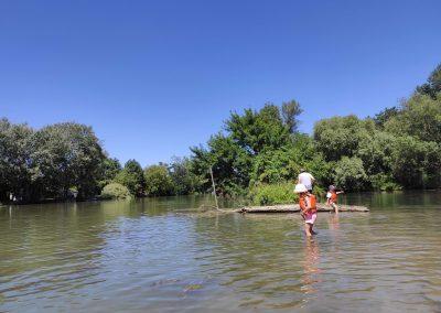 07 Minisplav Malého Dunaja Zálesie - plytčina