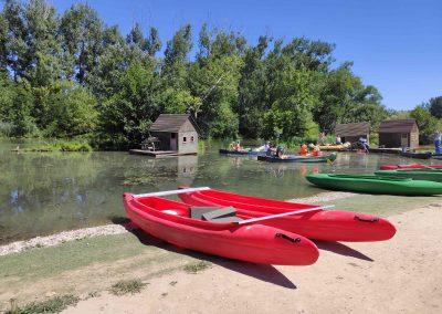 13 Minisplav Malého Dunaja Zálesie - lodenica Zálesie2